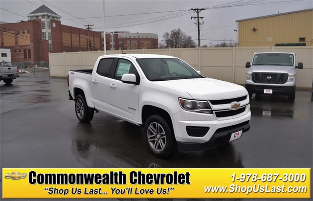 New 2019 Chevrolet Colorado Work Truck 4d Crew Cab In Lawrence