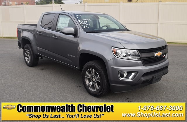 New 2019 Chevrolet Colorado Z71 4d Crew Cab In Lawrence C9094
