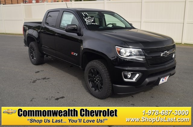 New 2019 Chevrolet Colorado Z71 4d Crew Cab In Lawrence C9089