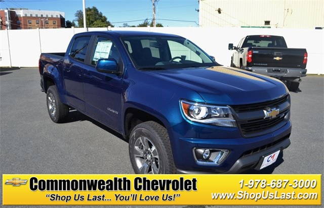 New 2019 Chevrolet Colorado Z71 4d Crew Cab In Lawrence C9124