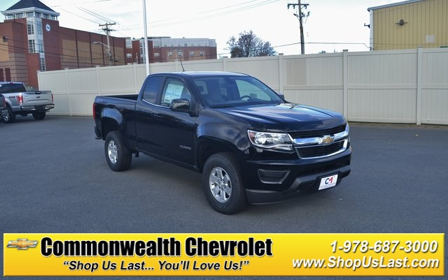 New 2019 Chevrolet Colorado Work Truck 4d Extended Cab In Lawrence