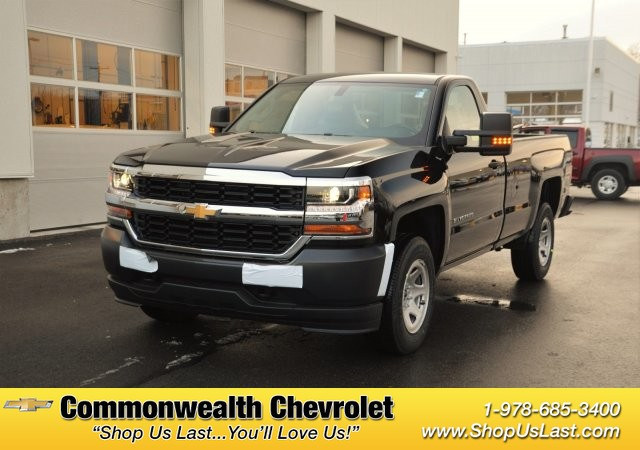 New 2017 Chevrolet Silverado 1500 Work Truck Pickup Truck