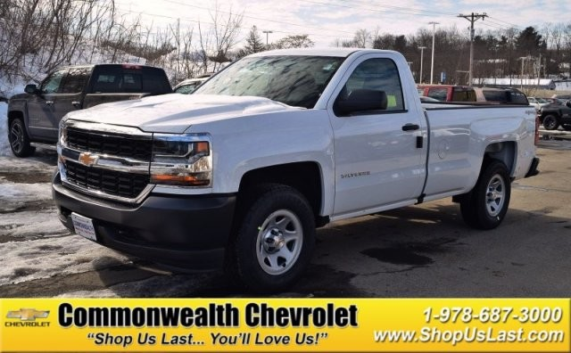 New 2017 Chevrolet Silverado 1500 Work Truck Pickup Truck In Lawrence C5413 Commonwealth Motors