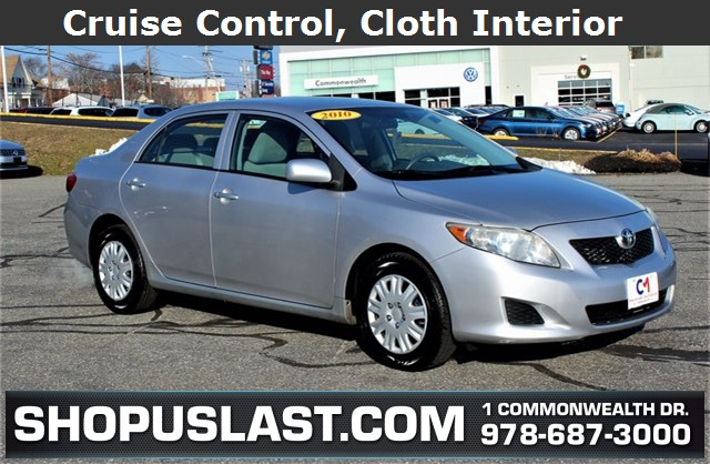 Pre Owned 2010 Toyota Corolla Le 4d Sedan In Lawrence H17570b
