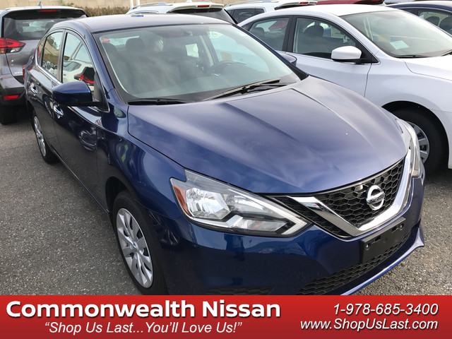 New 2017 Nissan Sentra S 4dr Car In Lawrence N1909 Commonwealth Motors