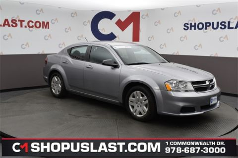 Certified Pre-Owned 2014 Dodge Avenger SE