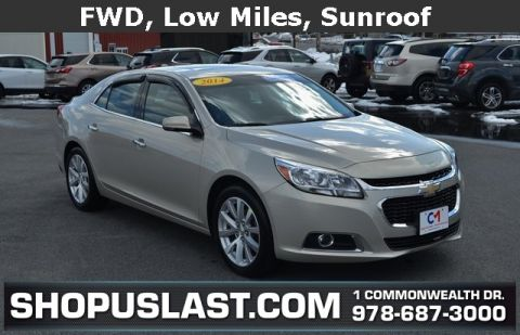 Certified Pre-Owned 2014 Chevrolet Malibu LTZ
